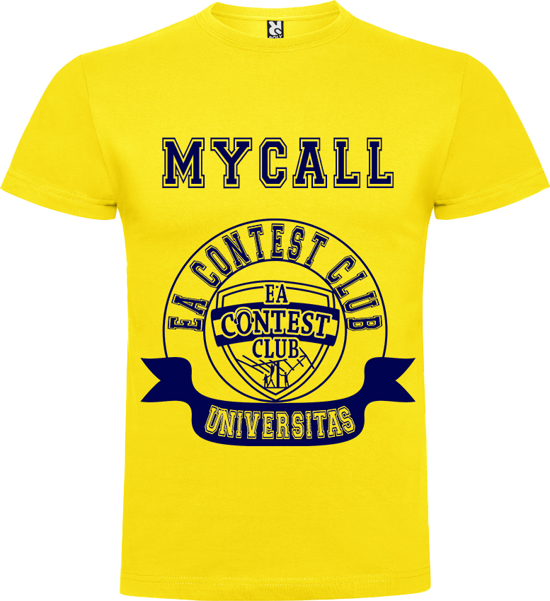 "Camiseta ""EA CONTEST CLUB UNIVERSITAS"" Personalizada"